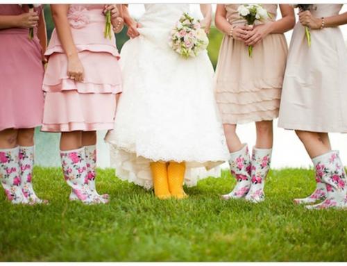 6 Consejos para afrontar la lluvia en tu boda