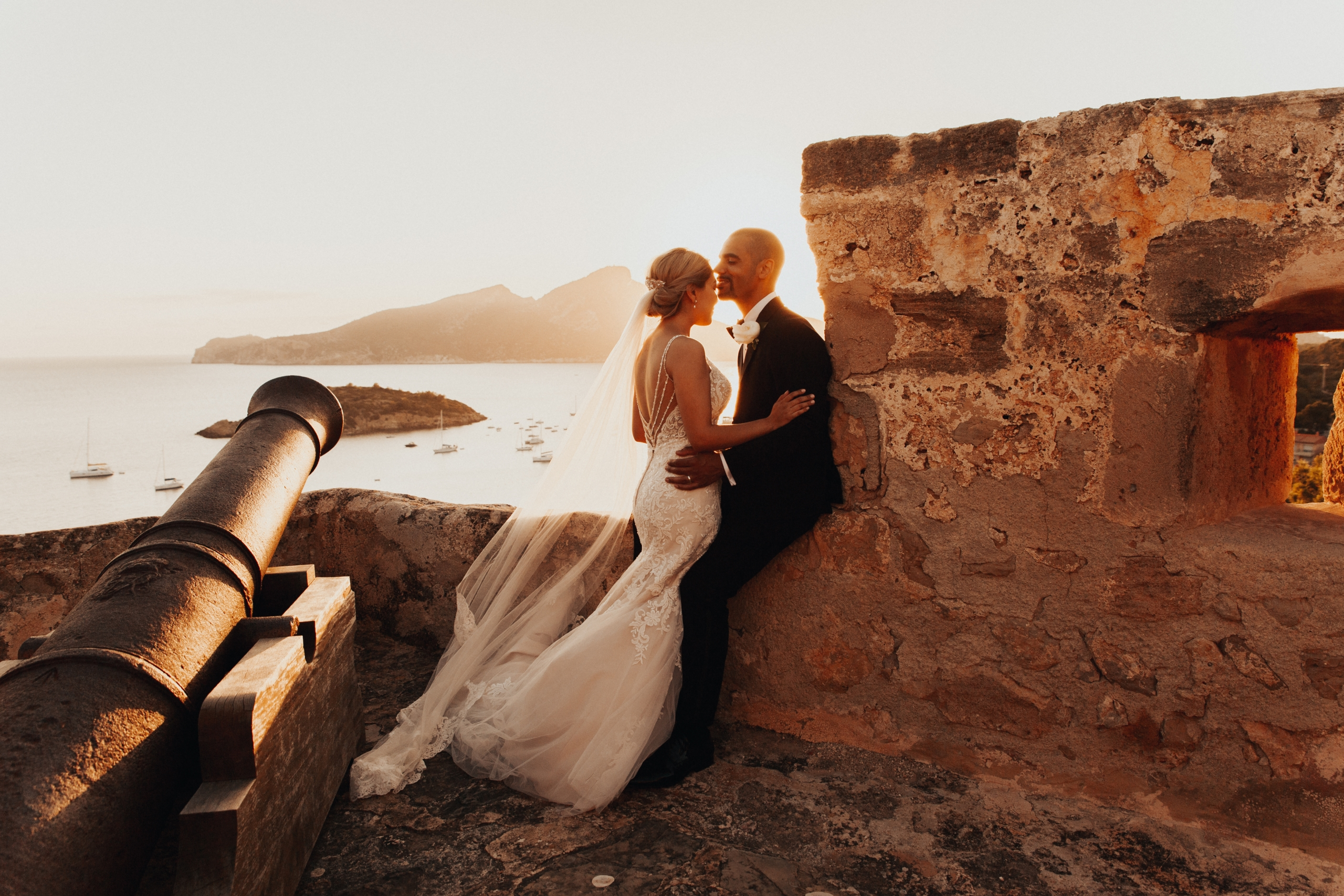 Wedding at Castell Sant Elm